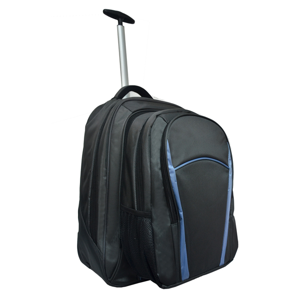 1680D polyester 2 in 1 detachable trolley bag with backpack