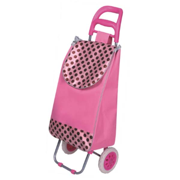fashion cheap shopping food trolley bag for supermarket