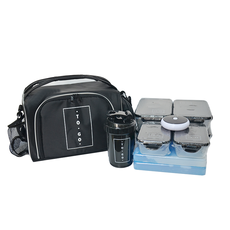 Multi-function large insulated customized fitness cooler lunch bag for outdoor